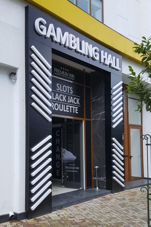 Смарт Дизайн ООД, град Варна, Студио за реклама, Светещи обемни L.E.D. букви, несветеща табела от Еталбонд